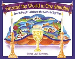 Around The World in One Shabbat - Jewish Books for Kindergarteners