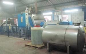 The olive press at Latroun.