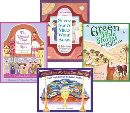 Jewish-themed books by D Yael Bernhard