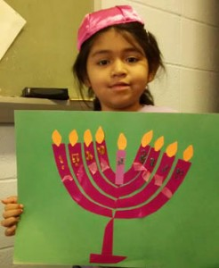 menorah by Grace