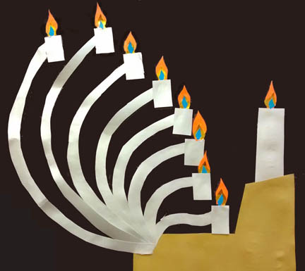 menorah by james