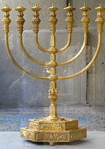 second temple menorah