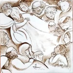 The Death of Jacob in progress 72dpi