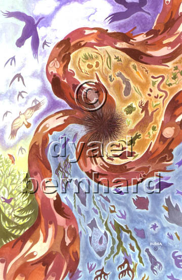 Genesis – version 1 – copyright © D Yael Bernhard
