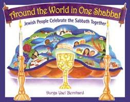 Around The World in One Shabbat - Jewish Books for Kindergarteners