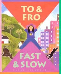 To and Fro Fast and Slow - Children's book for kindergarteners about divorce