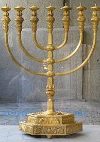 second temple menorah
