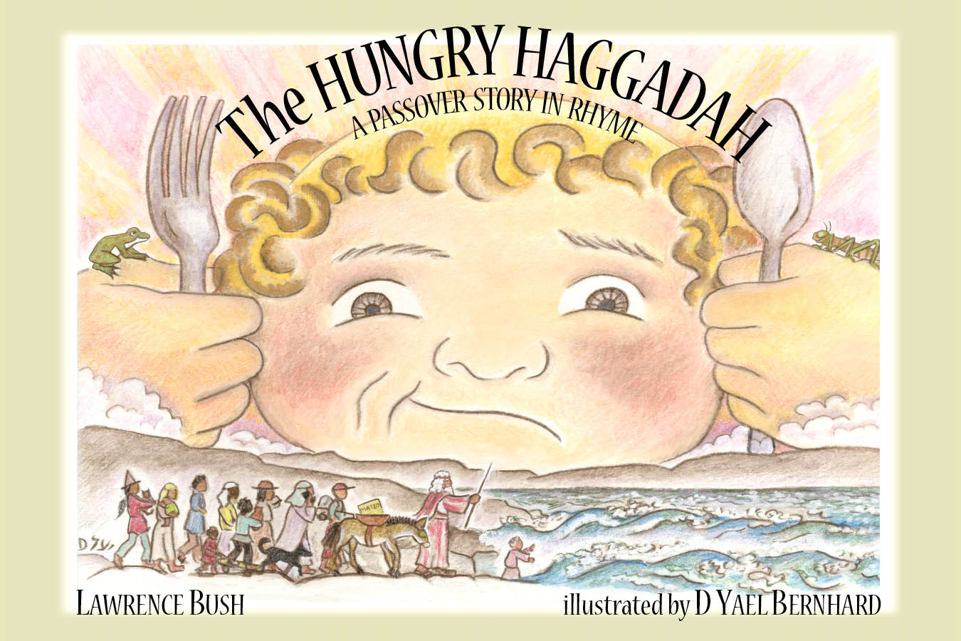 Hungry Haggadah cover color proof