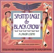 Spotted Eagle & Black Crow
